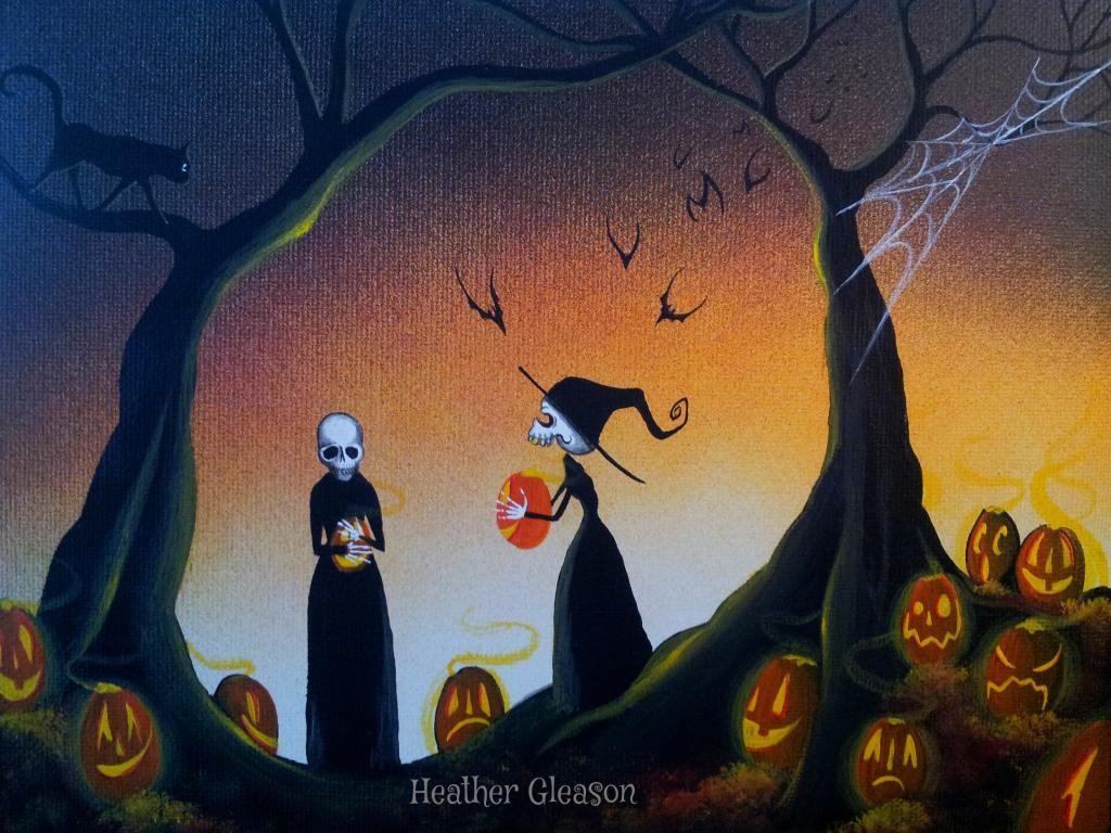 Halloween Artist Heather Gleason | My Eclectic Mind
