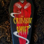 The Crimson Ghost Coffin Painting