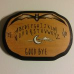 Bat Ouija 5 x 7 Wood Painting
