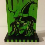 Two Faced The Creep Two Sided Wood Painting