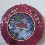 Decorative Santa Platter Personalize This!!