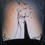 Love in The Dark Acrylic Painting