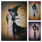 Sisters Witch Print Bundle of three